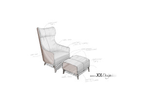 Skizze: JOI-Design/ ipdesign Hochlehner aus der FLOW Kollektion