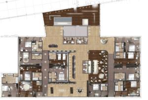 Grundriss Hotelkompetenzzentrum © JOI-Design