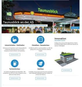 Ausschnitt der neuen Responsive Website von RSB Rudolstädter Systembau