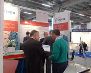 it-sa 2014: Impression vom Infotecs Messestand