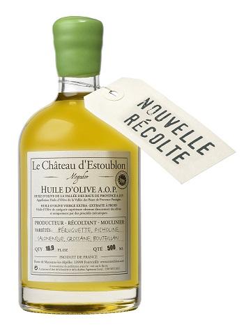 Château d'Estoublon  Neues Olivenöl aus der Ernte 2014