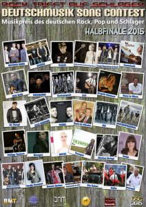 Deutschmusik-Song-Contest-Halbfinale: Bekanntgabe der Finalteilnehmer 2015
