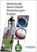 Dosen und Tuben trotzen der Konkurrenz: Ceresana untersucht den europäischen Markt für starre Metallverpackungen