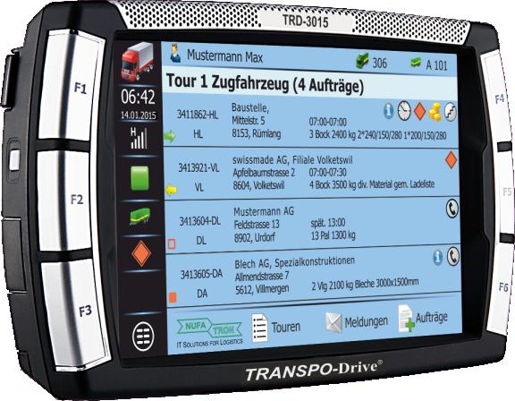 TRANSPO-Drive 3015 Telematik-System