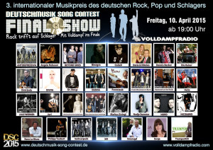 Deutschmusik Song Contest FINALE 2015