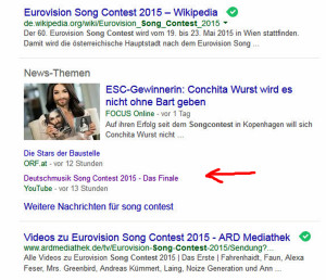 Deutschmusik Song Contest landet Video-Hit in Google News