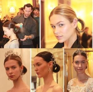 2-300x297 Marchesa Spring 2016 Bridal  Hair Design by Kevin Hughes, Moroccanoil Global Creative Ambassador ®