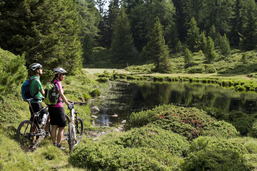 Einzigartige Touren im Bike-Paradies Vinschgau in Südtirol erleben.  (TV Naturns)
