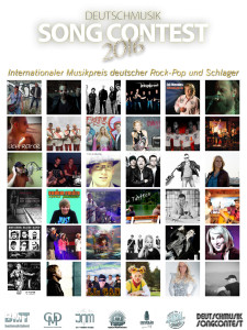 Deutschmusik Songcontest 2016 Musikpreis deutscher Rock-Pop und Schlager