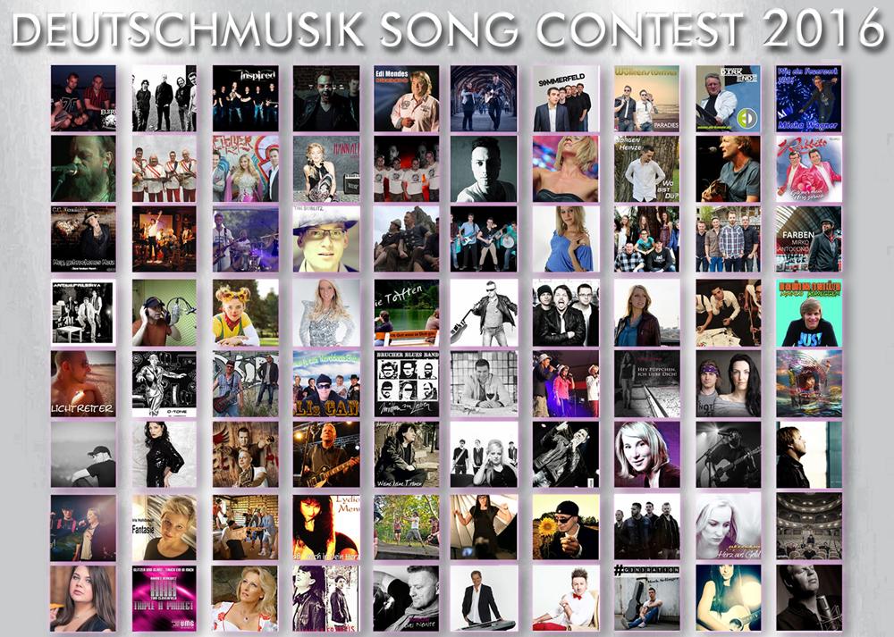 Deutschmusik Song Contest 2016 - Nominierte stehen fest