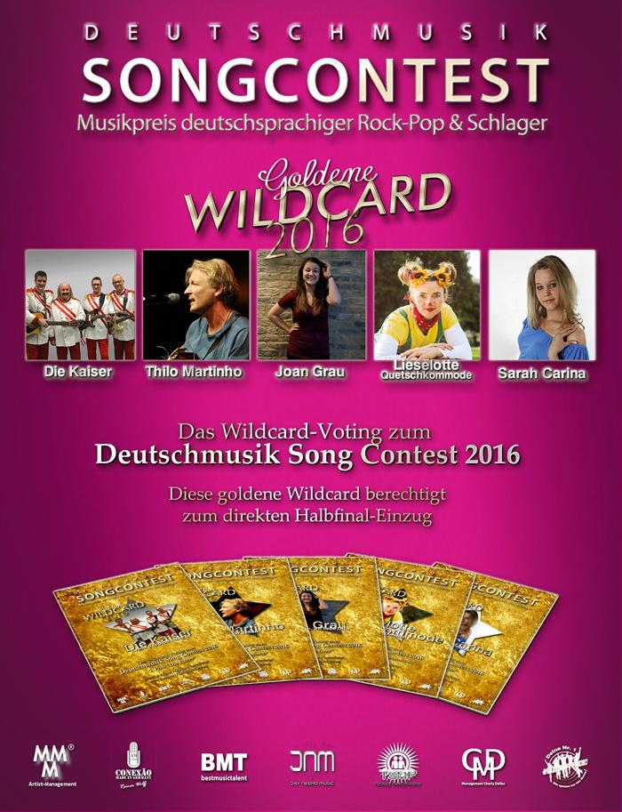 Deutschmusik Song Contest - Gewinner goldene Wildcard 2016