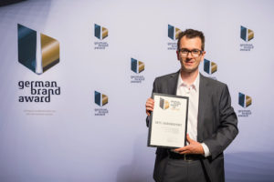 "German Brand Award 2016: ""Special Mention"" für ADVERMA"