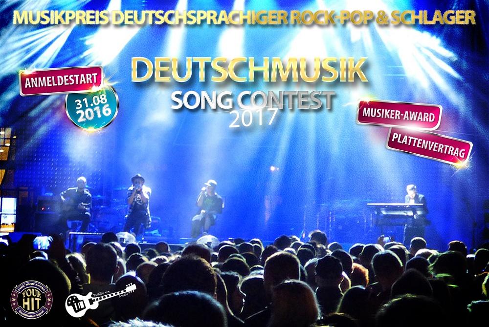 Deutschmusik Song Contest - Preis für deutsche Musik steht in den Startlöchern