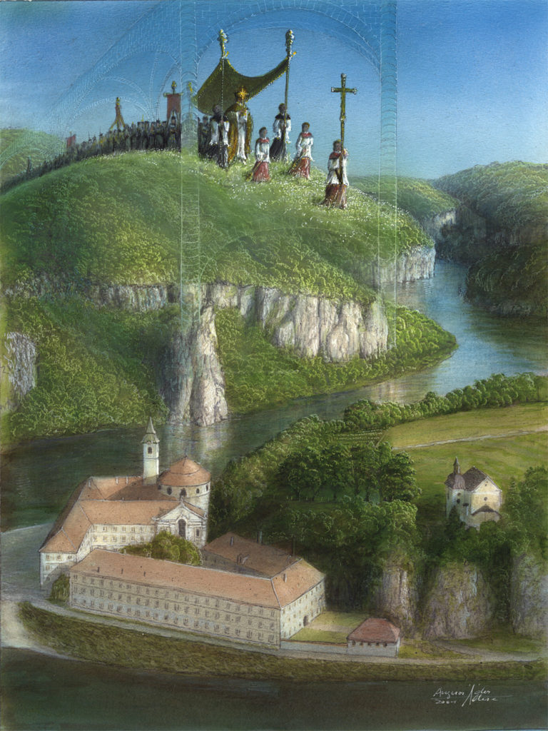 Kloster Weltenburg phantastisch-Angerer der Ältere