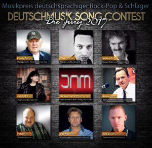 """Das ist die """"Deutschmusik Song Contest""""-Jury 2017"""