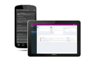 Software für Sicherheitsdienste: Smartphone / Tablet App