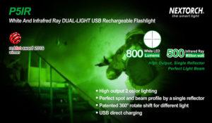 Optimale ergänzung für Nachtsichtgeräte IR-Taschenlampe von Nextorch
