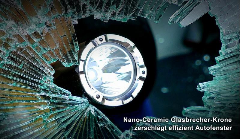 Notfall-Taschenlampe für Prepper, die im Krisenfall gerüstet sein wollen