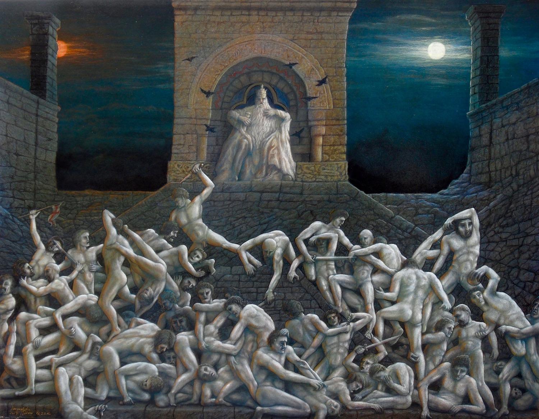 Plötzlich, mitten in der Nacht……….. – Berühmte Gemälde