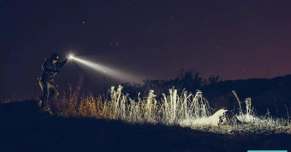 Polizeitaschenlampe / Rettungsdienst Red Dot Award