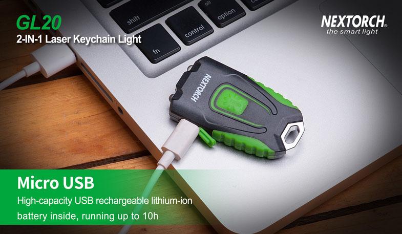 USB-Aufladenmöglichkeit