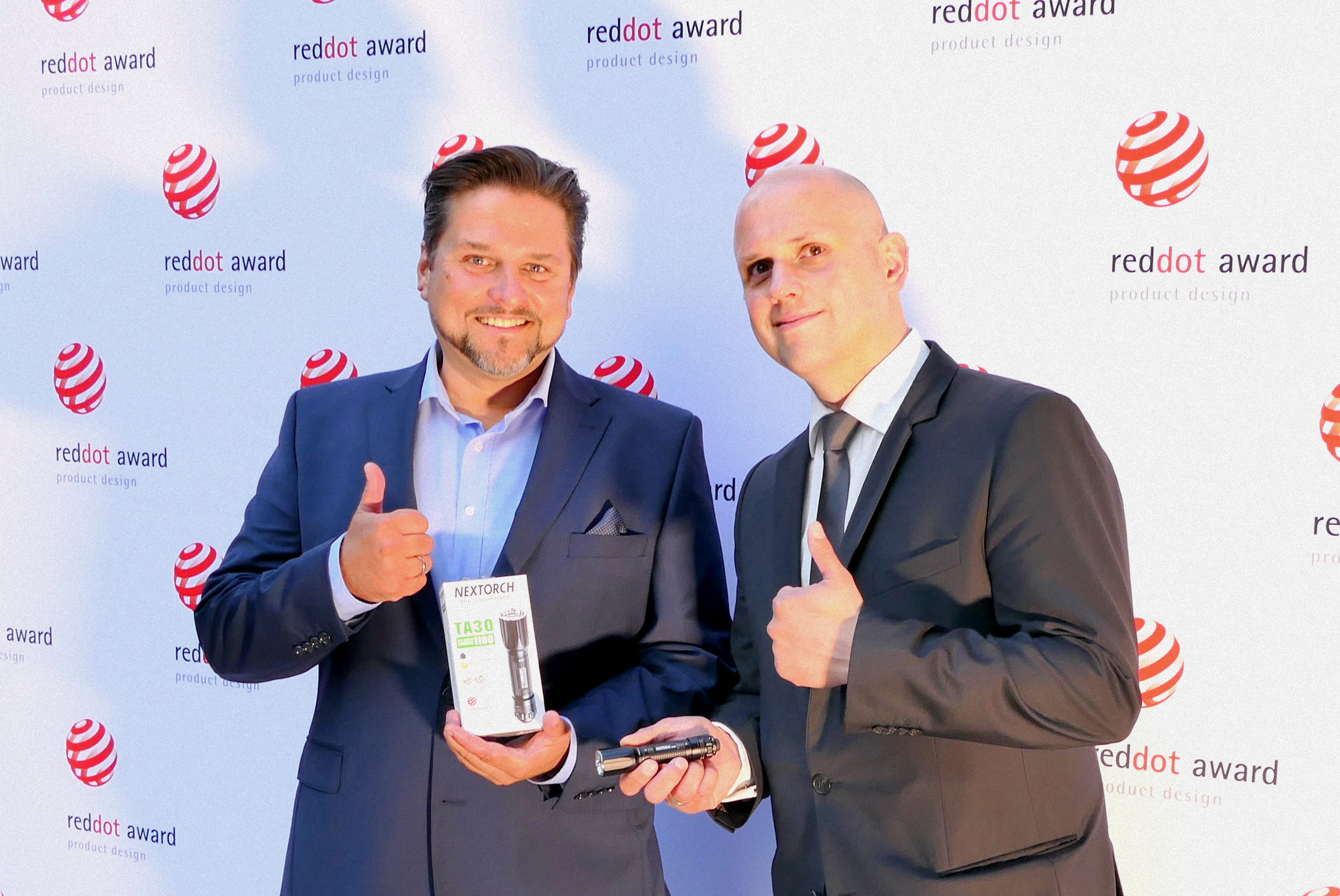 Peter Koch und Thomas Nachtigal von Nextorch aus Deutschland