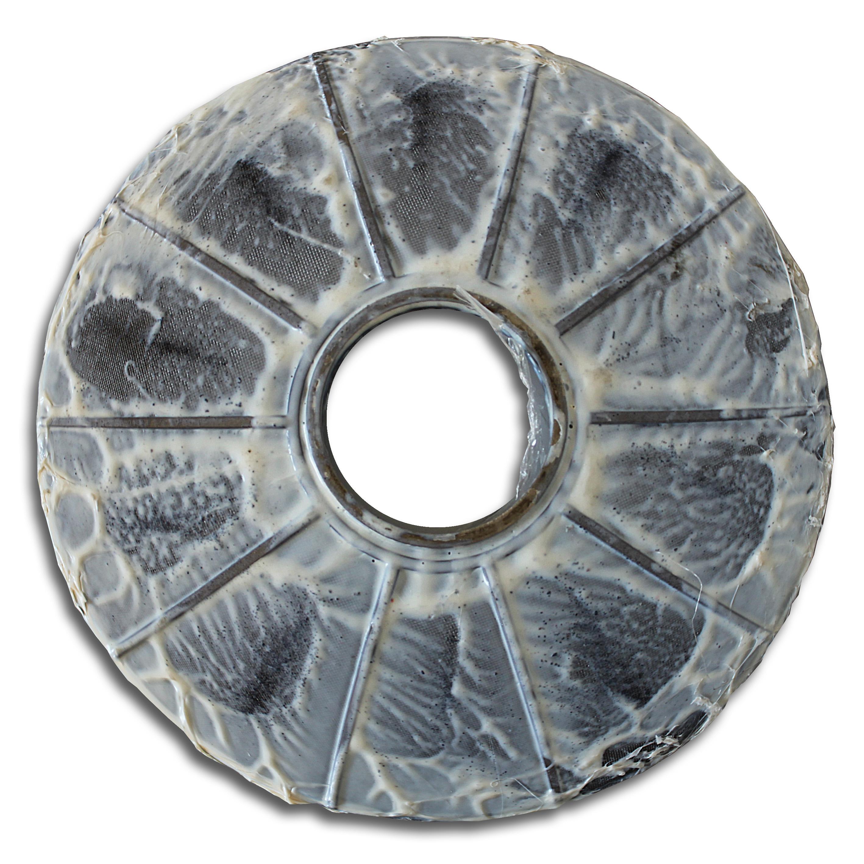 Metall-Filterscheiben vorher | Foto: SCHWING Technologies