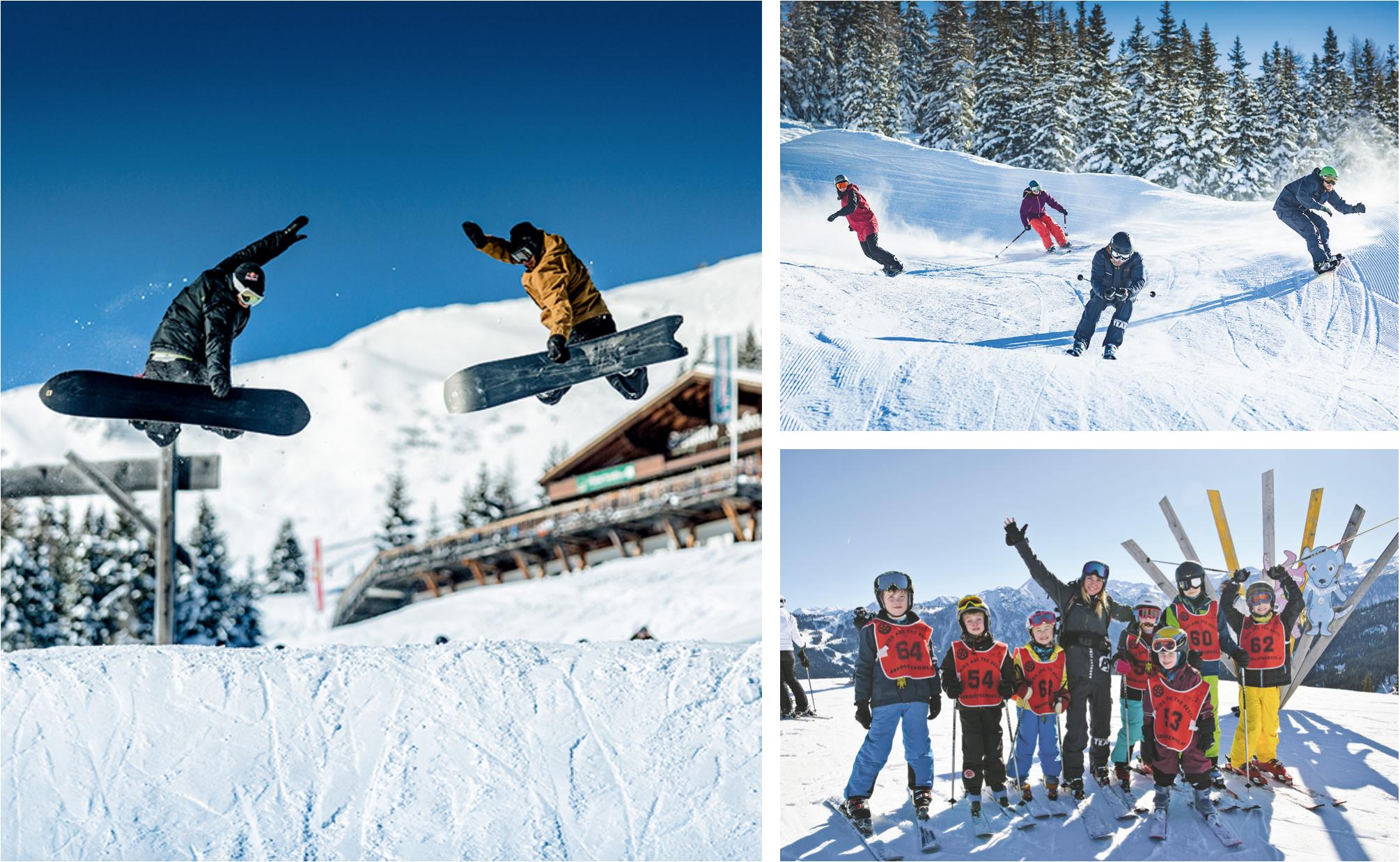 Shuttleberg Flachauwinkl-Kleinarl im Salzburger Land: Das #1 Wintersport-Gebiet für aktive Familien und Freestyler