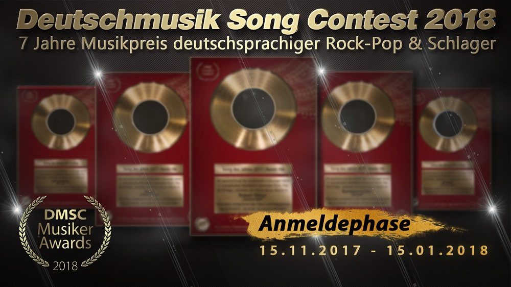 Deutschmusik Song Contest - Musiker-Awards 2018