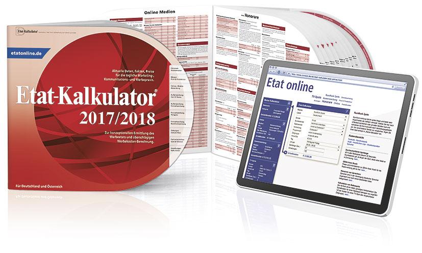 Der neue Etat-Kalkulator 2017/18