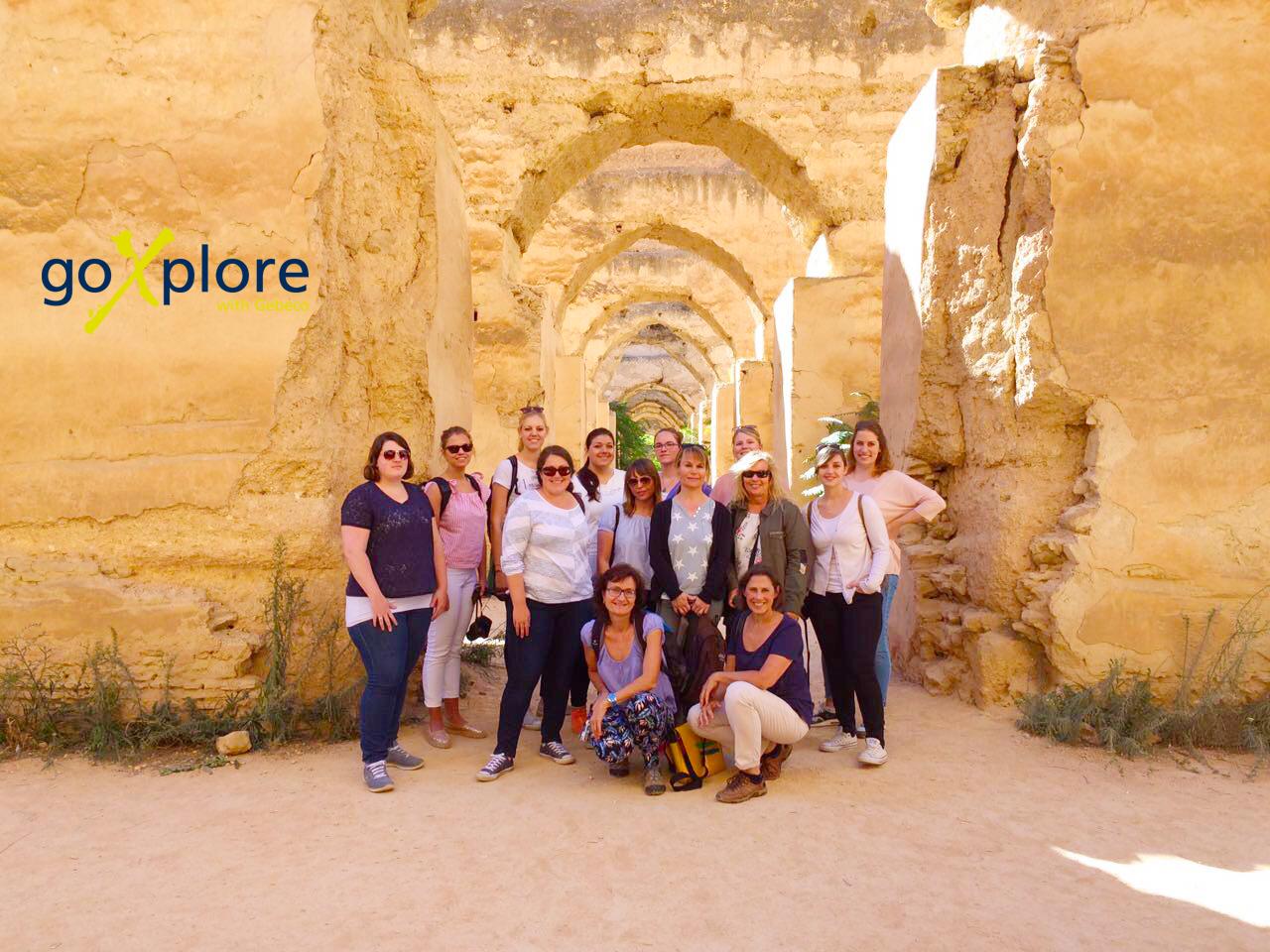 Mit goXplore erlebten 12 Expedienten die marokkanische Wüste