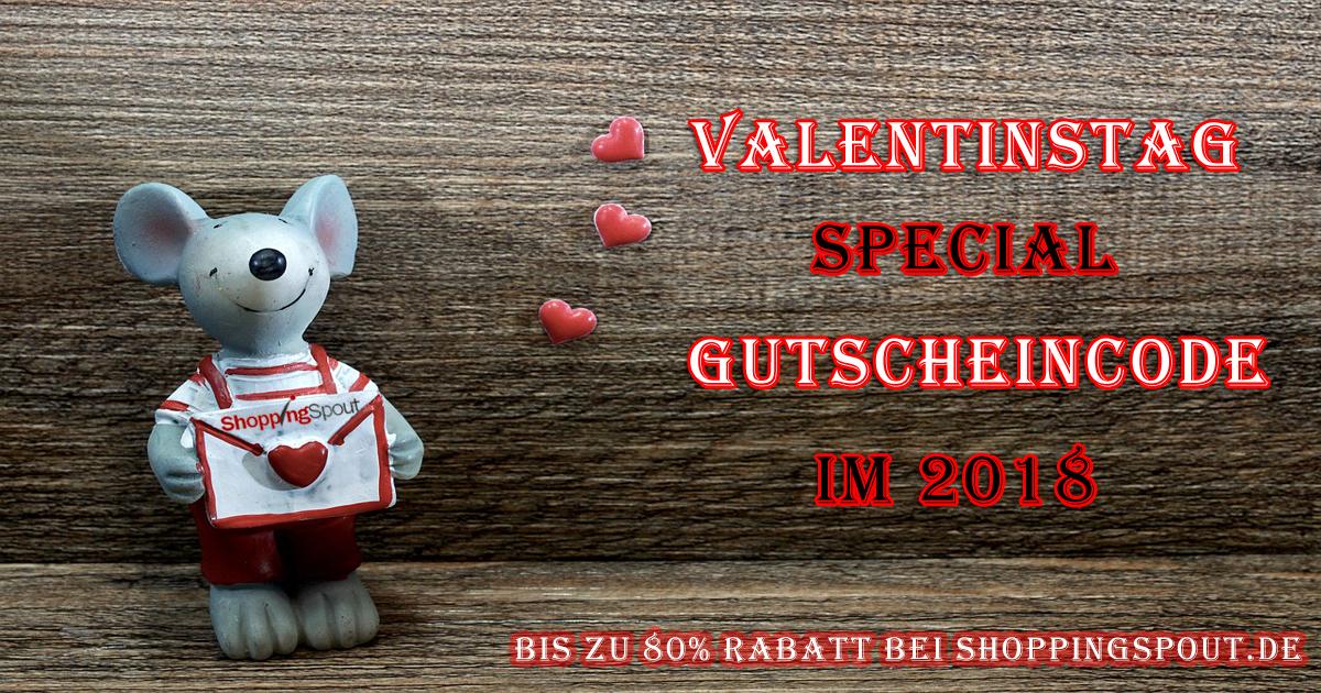 Schnäppchen mit Shoppingspout.de auf dies Valentinstag im 2018