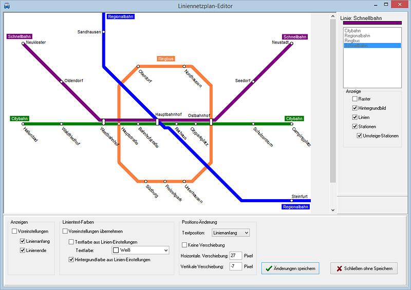 Bild vom LineMap-Draw-Editor