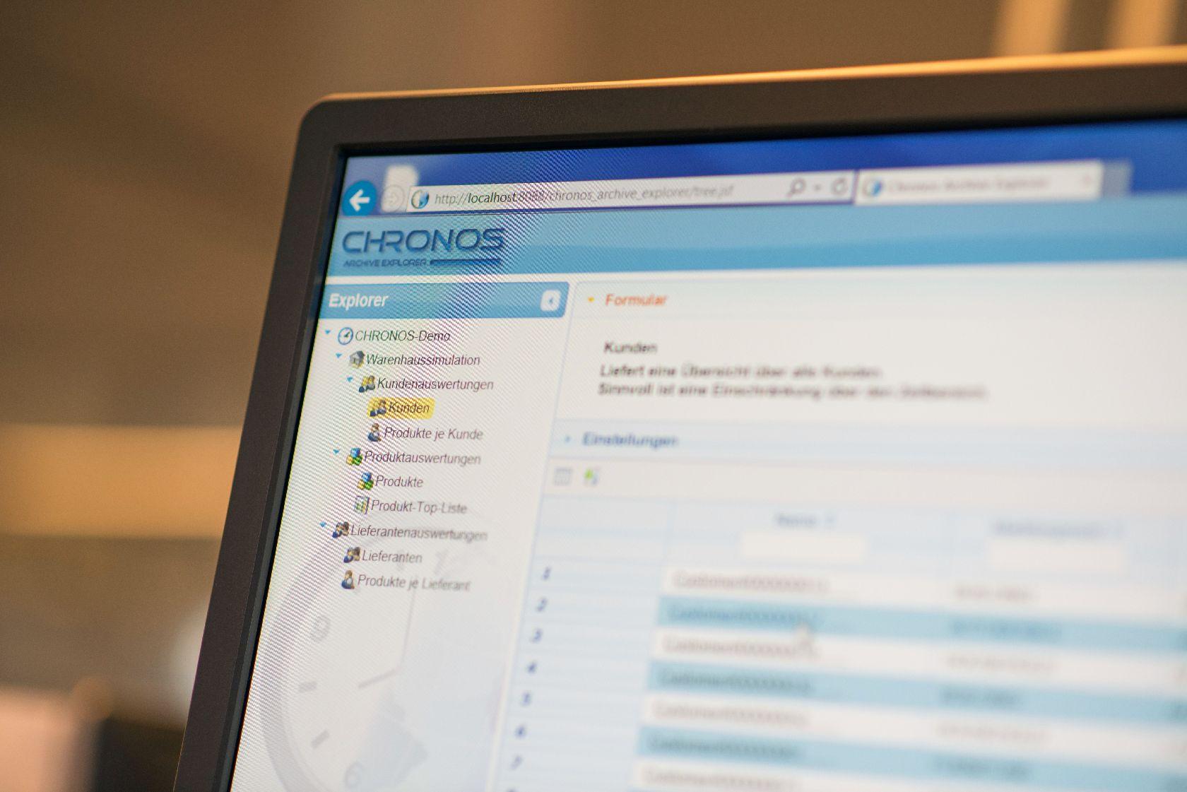 CSP CHRONOS Mathematische Funktionen Archivübergreifende Suche