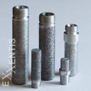 Sinterfilter, Filter aus porösem Aluminium