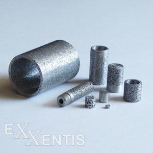 Sinterfilter, Sintermetall, poröses Aluminium