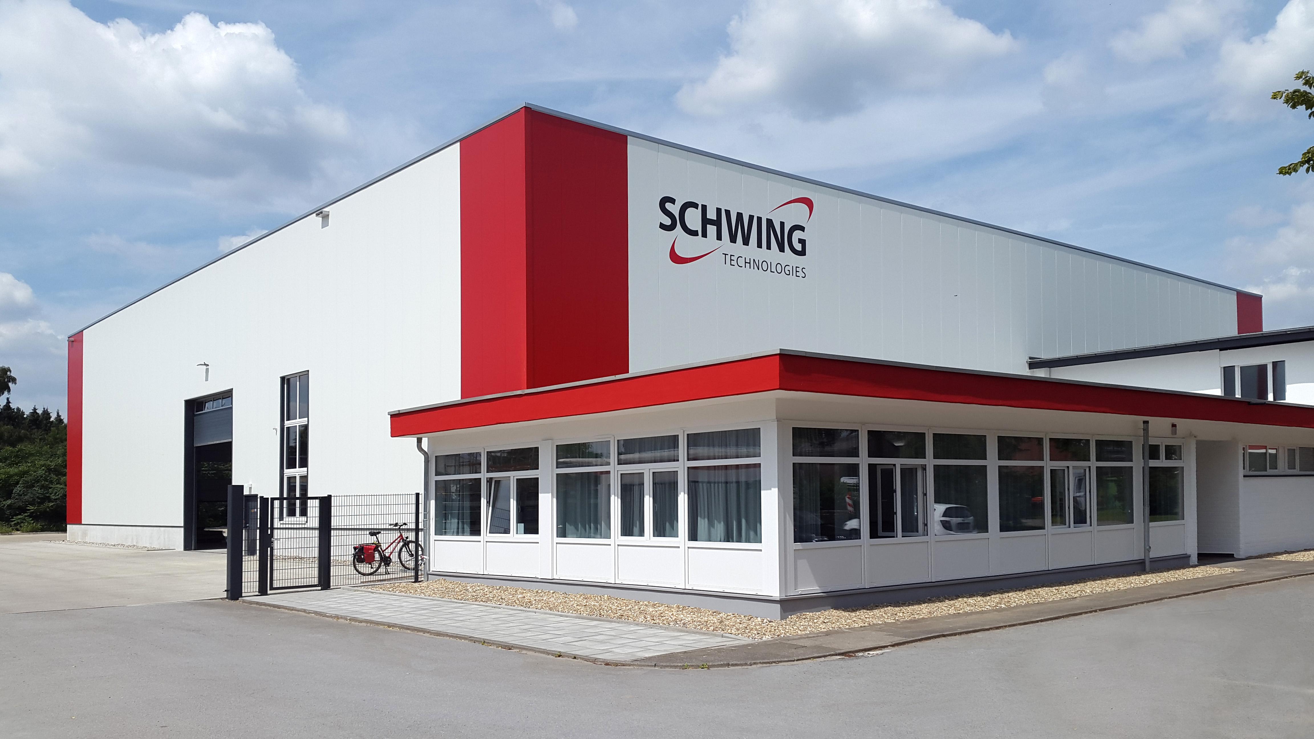 SCHWING Technologies: Eröffnung der neuen Fertigungshalle in Neukirchen-Vluyn. Foto: SCHWING Technologies