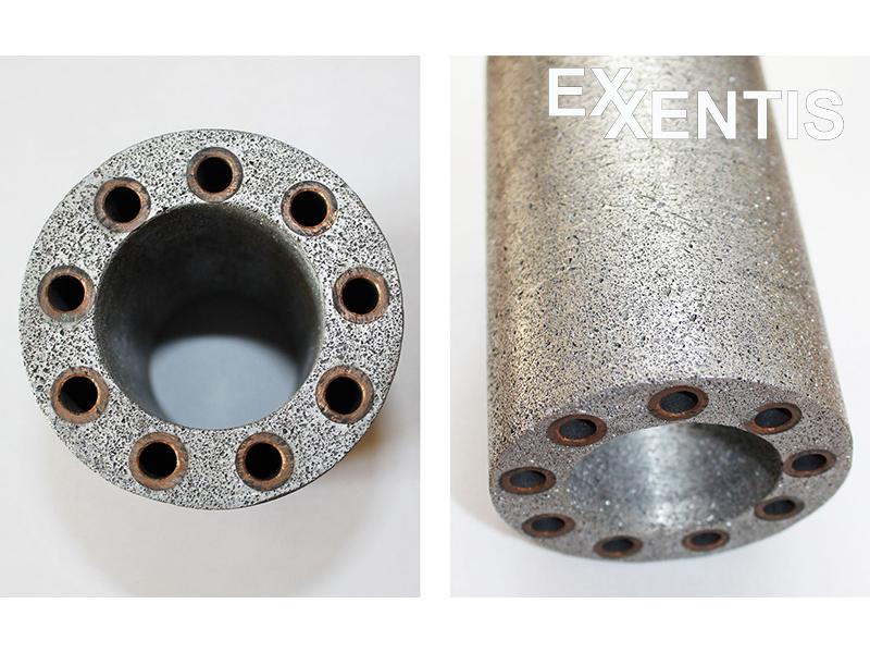 poröses-Material-poröses-Aluminium-mit-hohe-Wärmeleitfähigkeit-und-Wärmekapazität