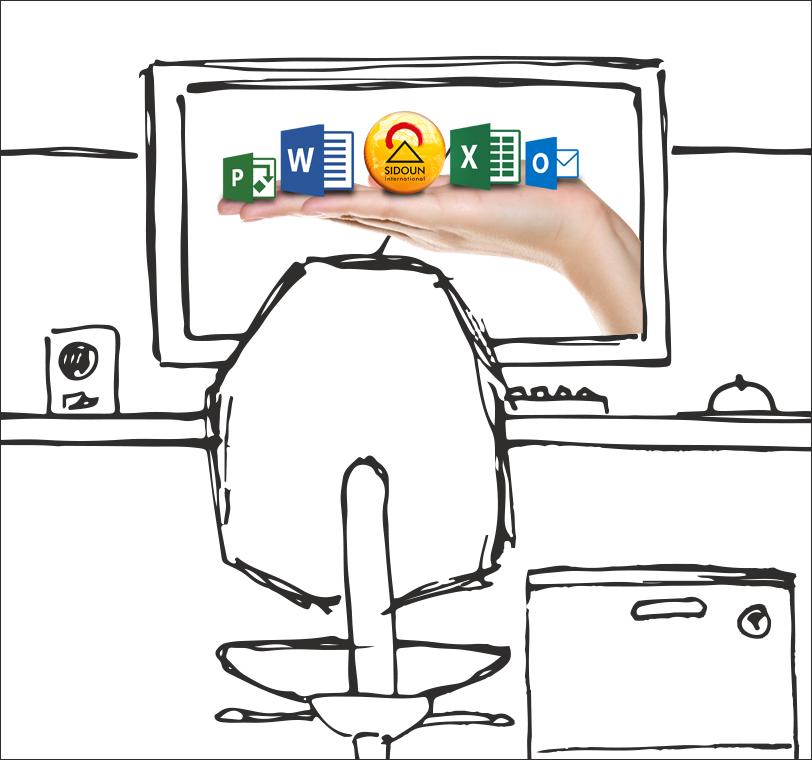 AVA-Software kombiniert mit Office