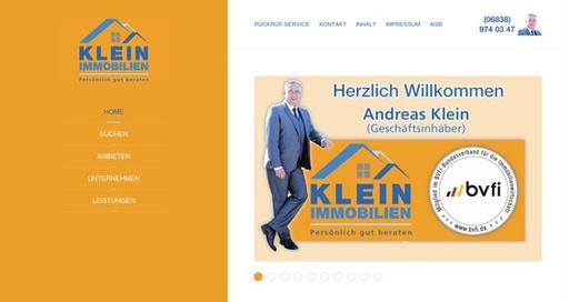 Webdesign für Immobilienmakler