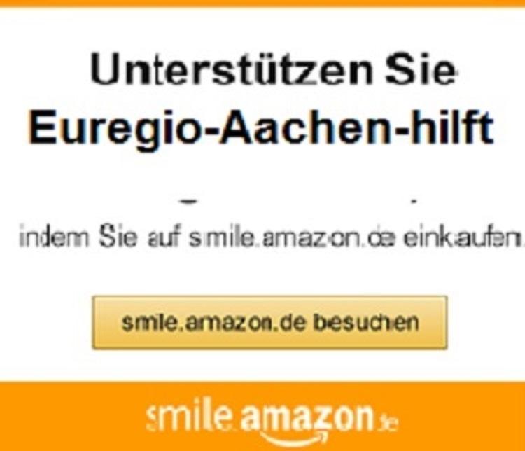 Einkaufen und helfen! Online bei Amazon einkaufen und die Aachener Obdachlosenhilfe unterstützen!