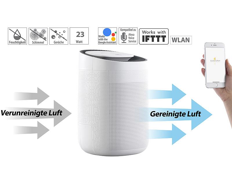 Sichler Haushaltsgeräte 2in1-Luftreiniger LFT-250.app