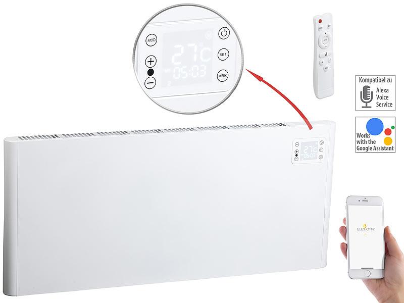 Sichler Haushaltsgeräte WLAN-Konvektor-Wand-Heizung