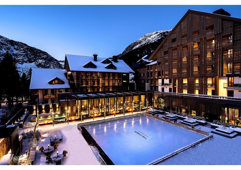 The Chedi Andermatt mit Gotthard Deep Snow Experience