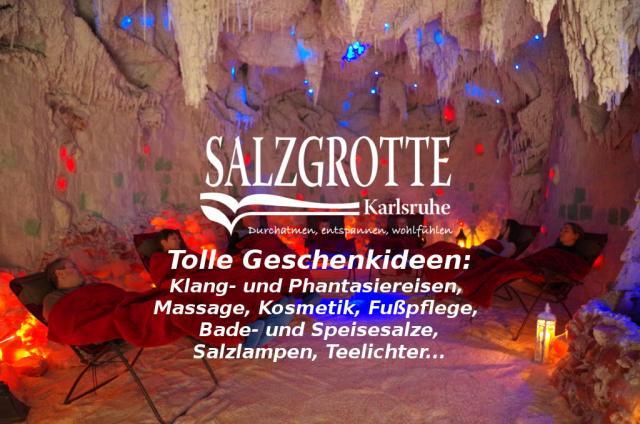Schenken Sie Gutscheine der Salzgrotte Karlsruhe zum Valentinstag