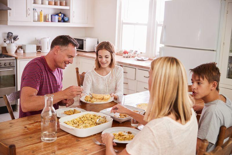Familienmahlzeiten als Gesundheitsvorsorge