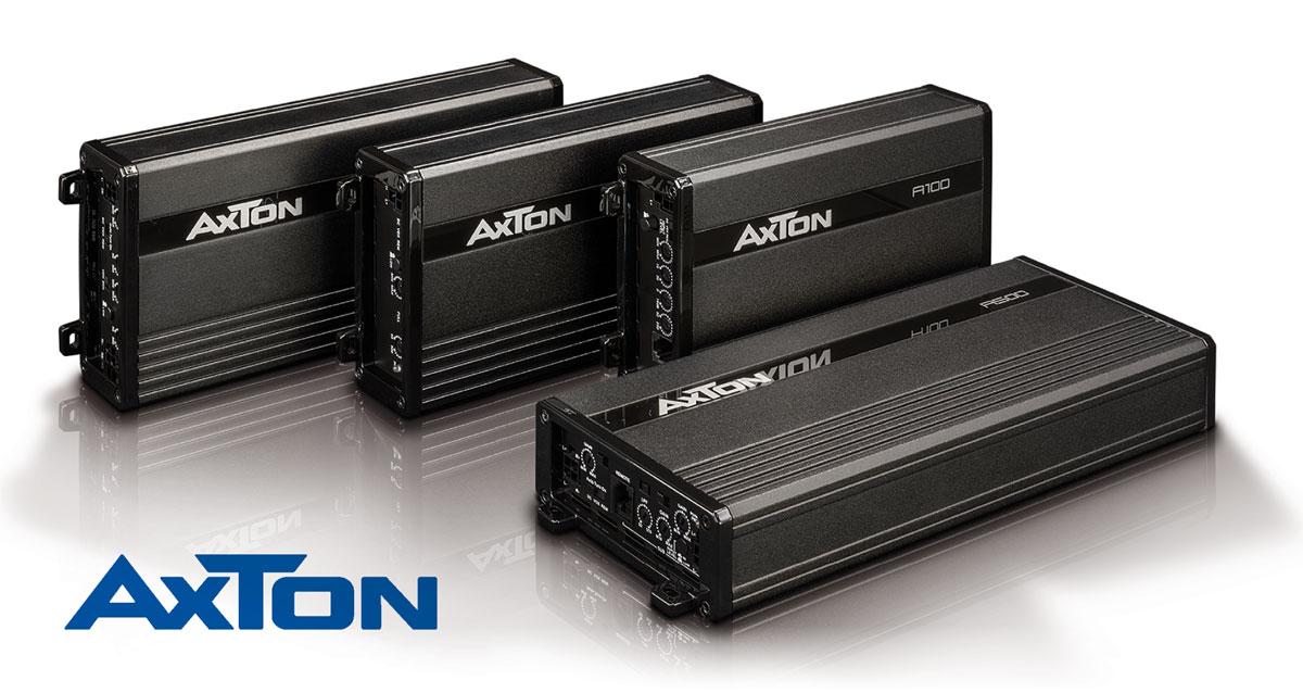 Kompakte Kraftpakete – AXTONs neue Verstärkerserie