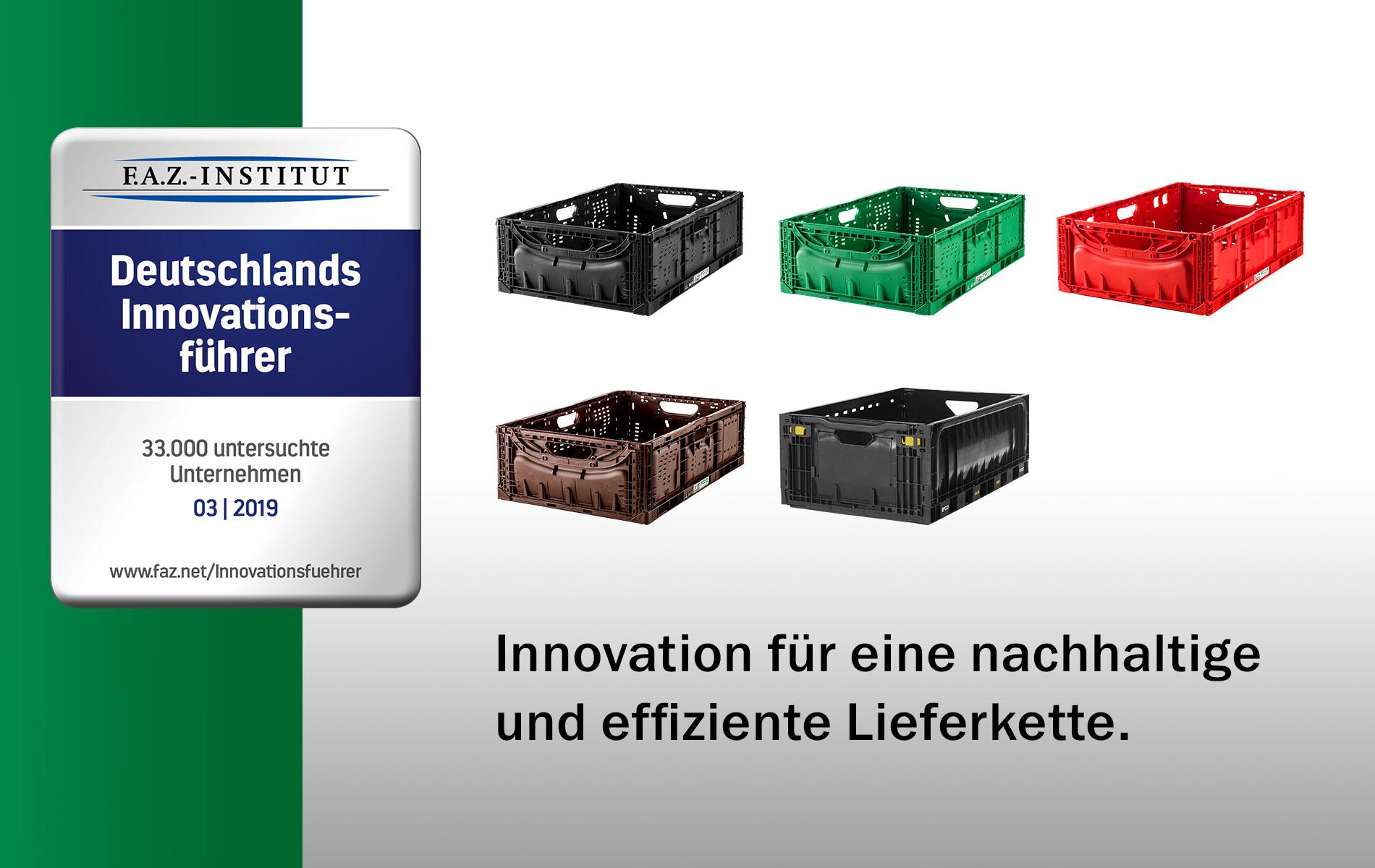 IFCO als Innovationsführer Deutschlands ausgezeichnet