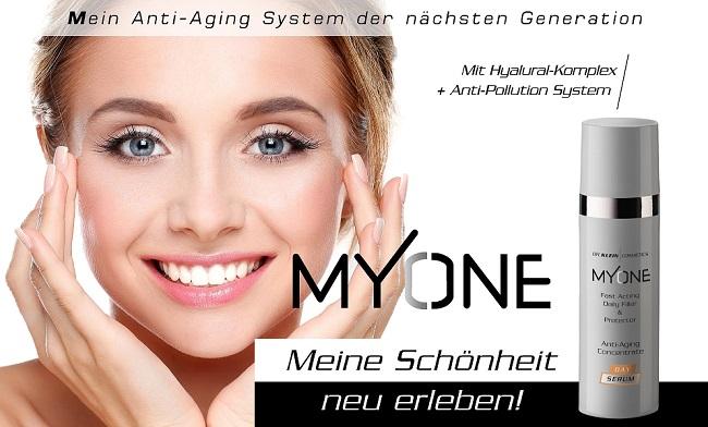 My One – die neue Anti-Aging-Pflegeserie mit Anti-Pollution-Schutzkomplex