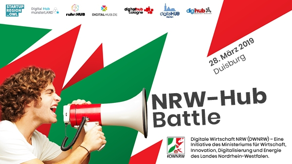 Aus welcher NRW-Region kommt das spannendste digitale Start-up?